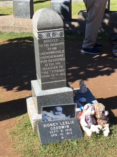 Titanic Cemetery - Unknown child - now known through DNA - IMG_4799 (1)